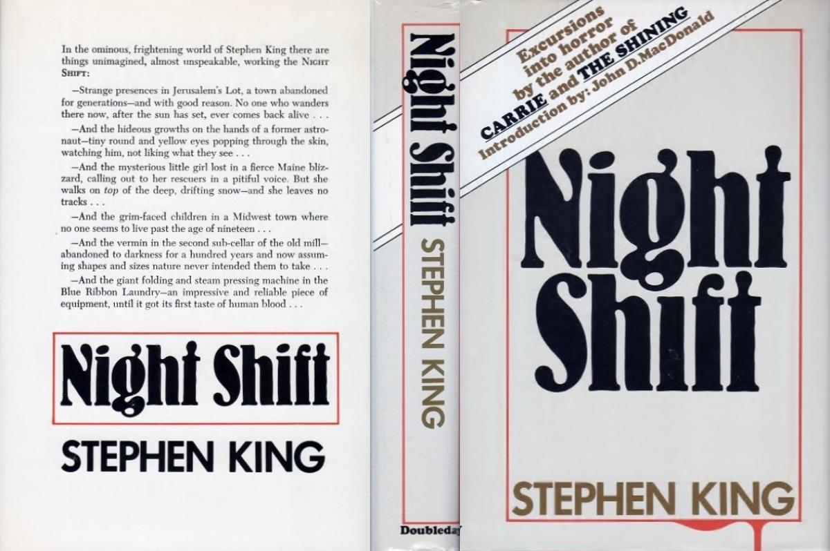 """Night Shift"" - obwoluta - obrazek"