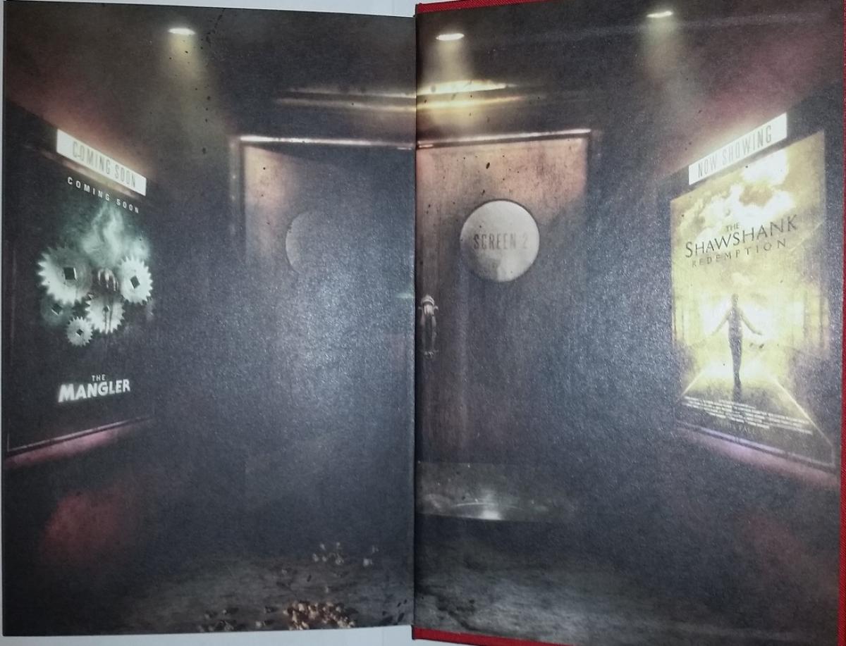 """""""Stephen King Goes to the Movies"""" - wyklejka na końcu książki - obrazek"""
