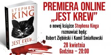 Premiera online nowej książki Stephena Kinga Jest krew - obrazek