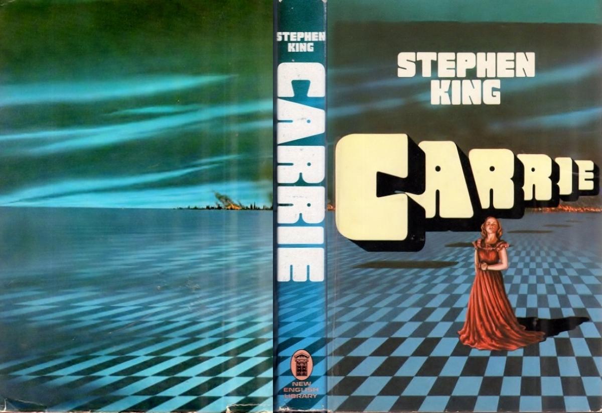 """""""Carrie"""" - obwoluta - obrazek"""