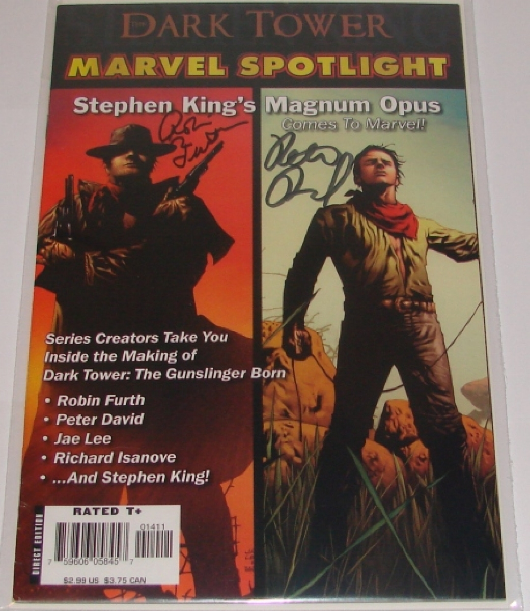 """The Dark Tower: Marvel Spotlight"" - autografy Robin Furth i Petera Davida - obrazek"