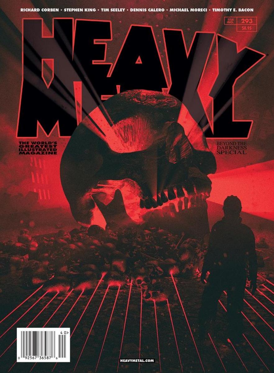 """""""Heavy Metal"""" #293 - okładka wariant B - obrazek"""