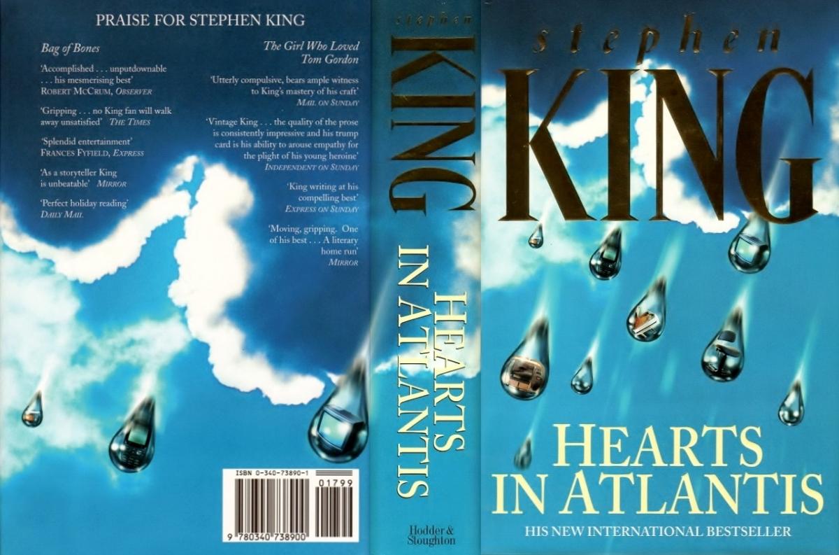 """""""Hearts In Atlantis"""" - obwoluta - obrazek"""