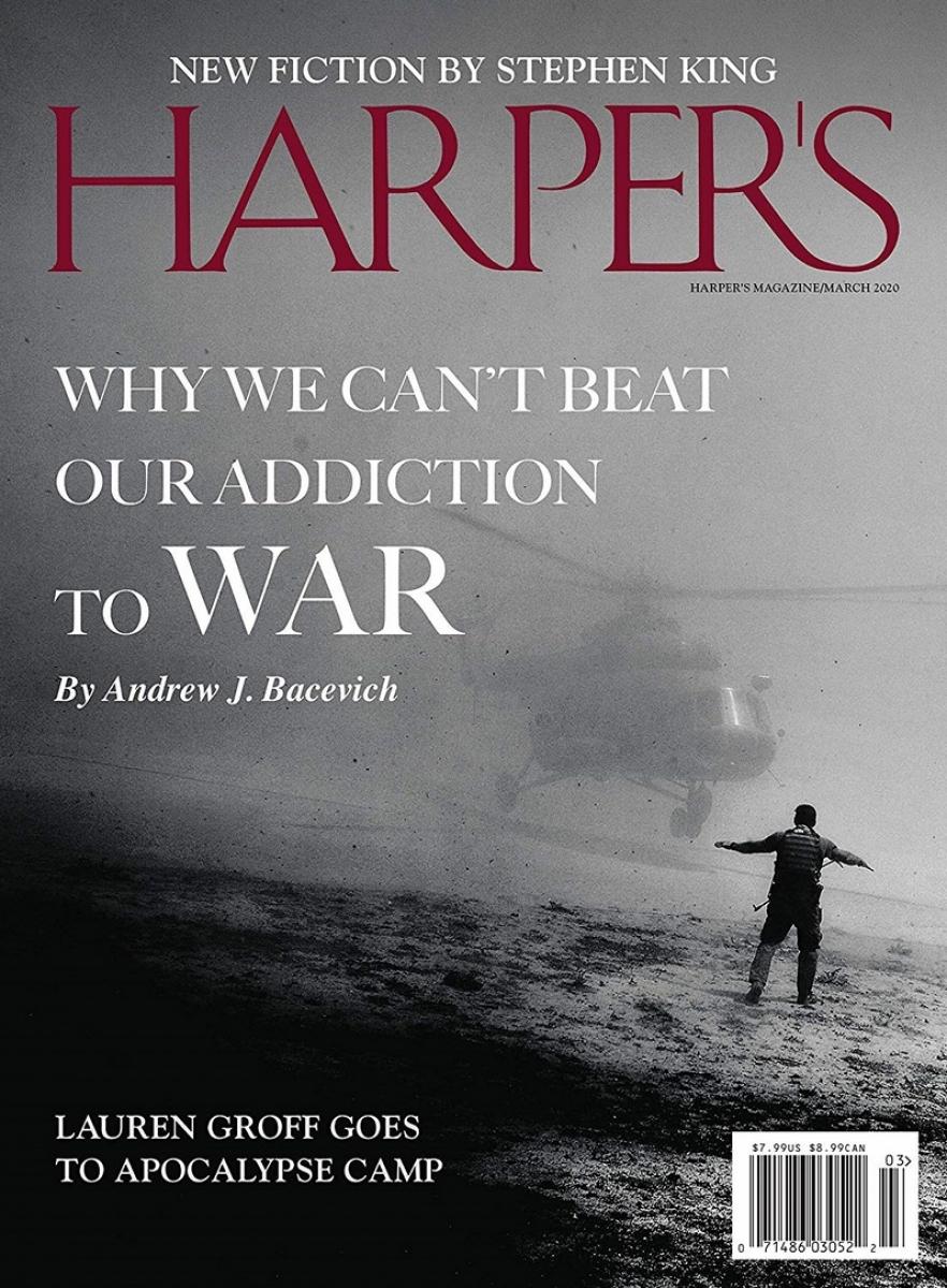 """""""Harper's"""" - okładka numeru marzec 2020 - obrazek"""