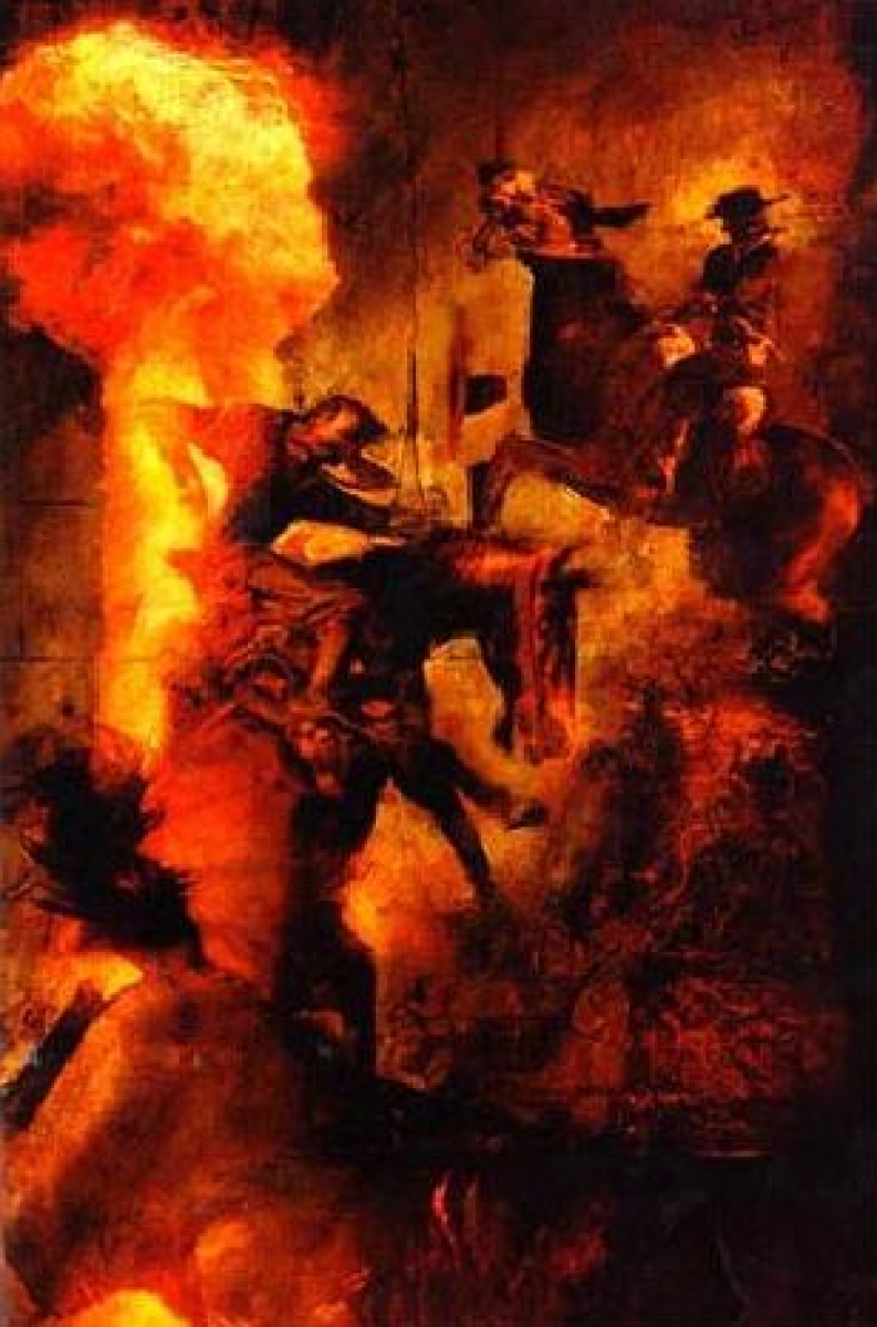 """The Dark Tower IV: Wizard and Glass"" - ilustracja Dave'a McKeana - obrazek"