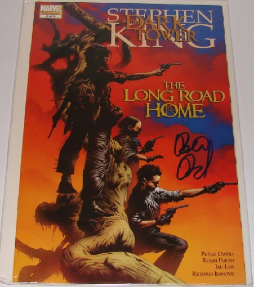 """The Dark Tower: The Long Road Home #2"" - autograf Petera Davida - obrazek"