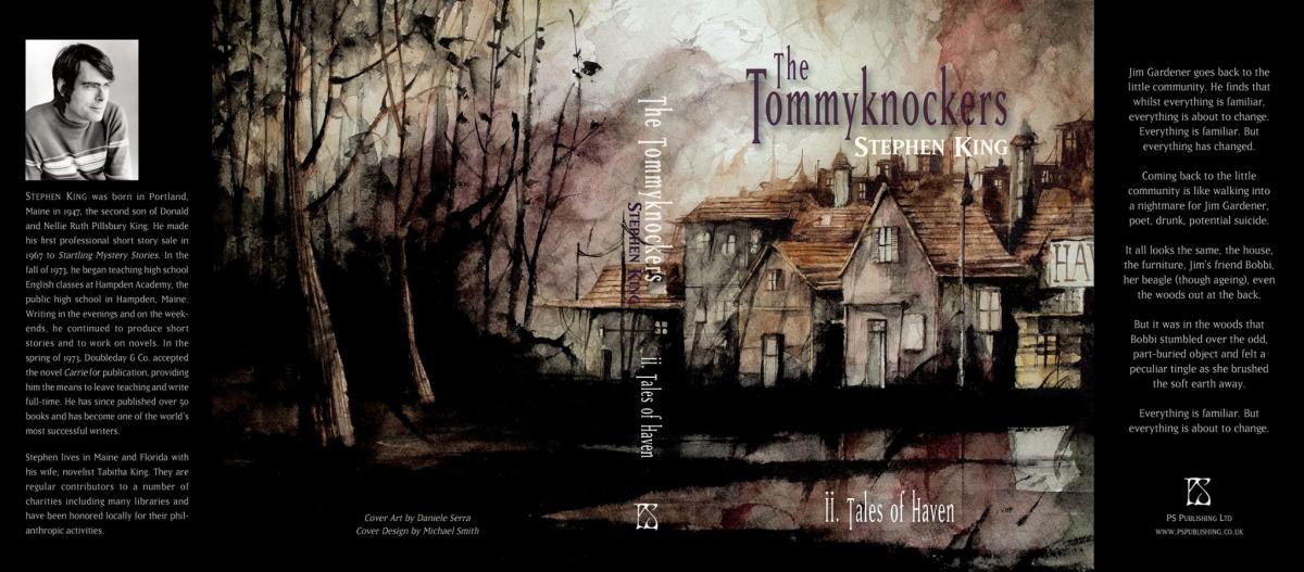 """The Tommyknockers"" - tom II - okładka - obrazek"