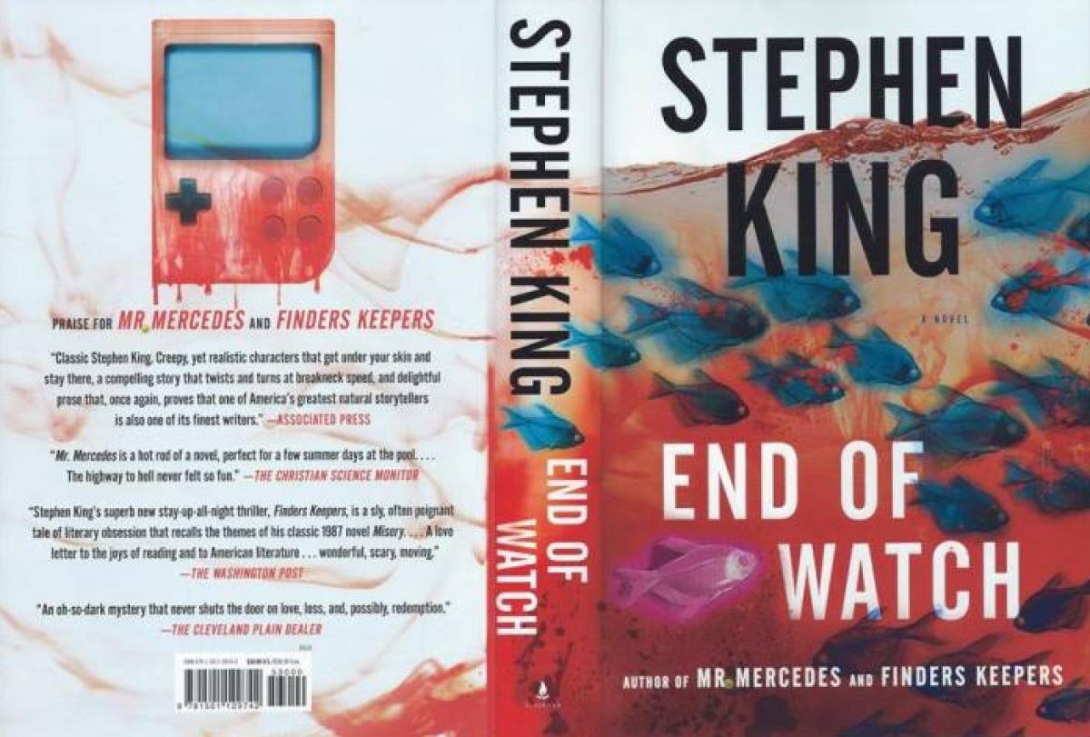 """""""End Of Watch"""" - obwoluta - obrazek"""