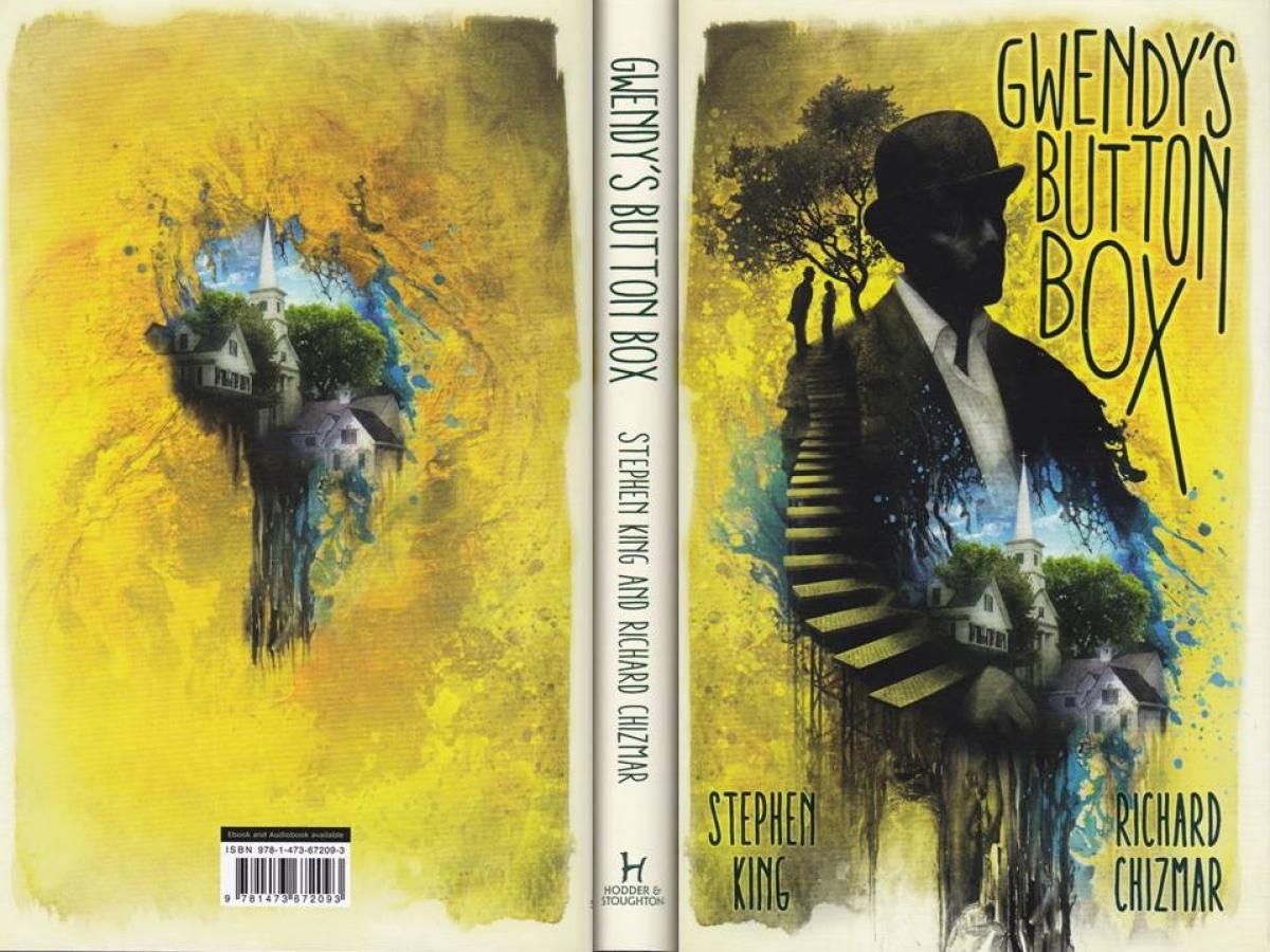 """Gwendy's Button Box"" - obwoluta - obrazek"