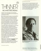 Thinner - biografia