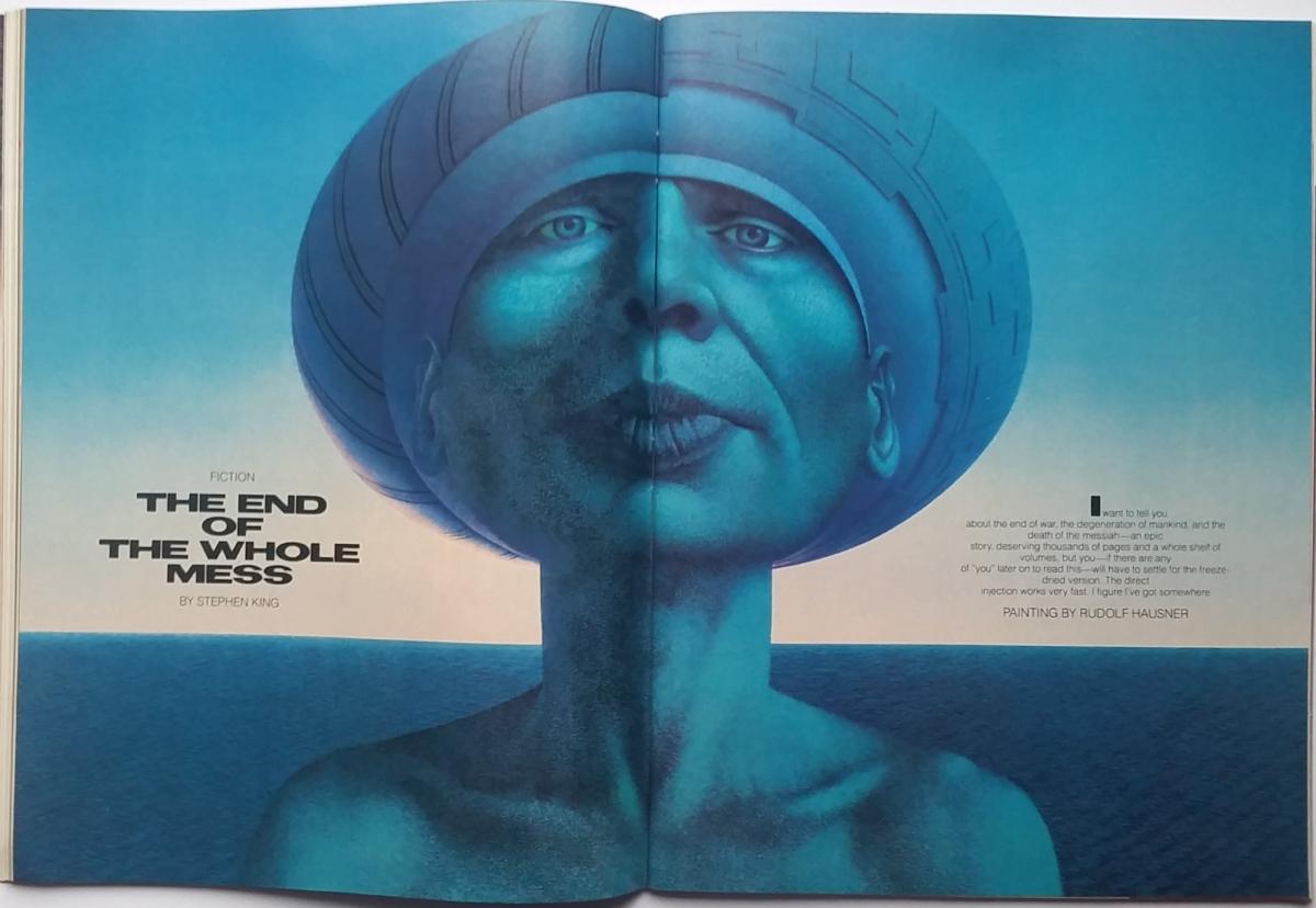 """""""Omni"""" 10/1986 z opowiadaniem """"The End of the Whole Mess"""" - obrazek"""
