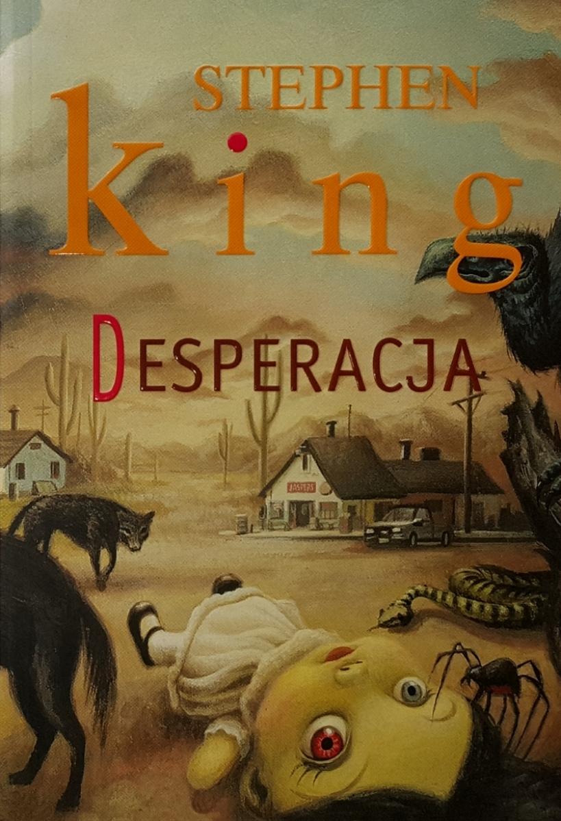 """""""Desperacja"""" - wydawnictwo Albatros 2011 rok - obrazek"""