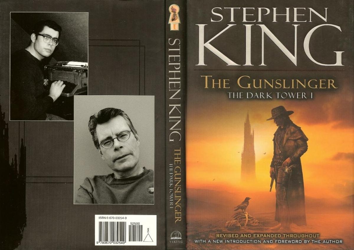 """The Dark Tower I: The Gunslinger"" wersja z 2003 roku - obwoluta - obrazek"