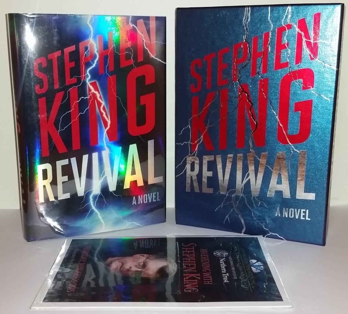 """""""Revival"""" - książka, etui i ulotka - obrazek"""