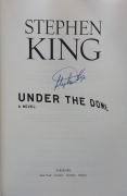 Under the Dome (Scribner) - autograf Stephena Kinga