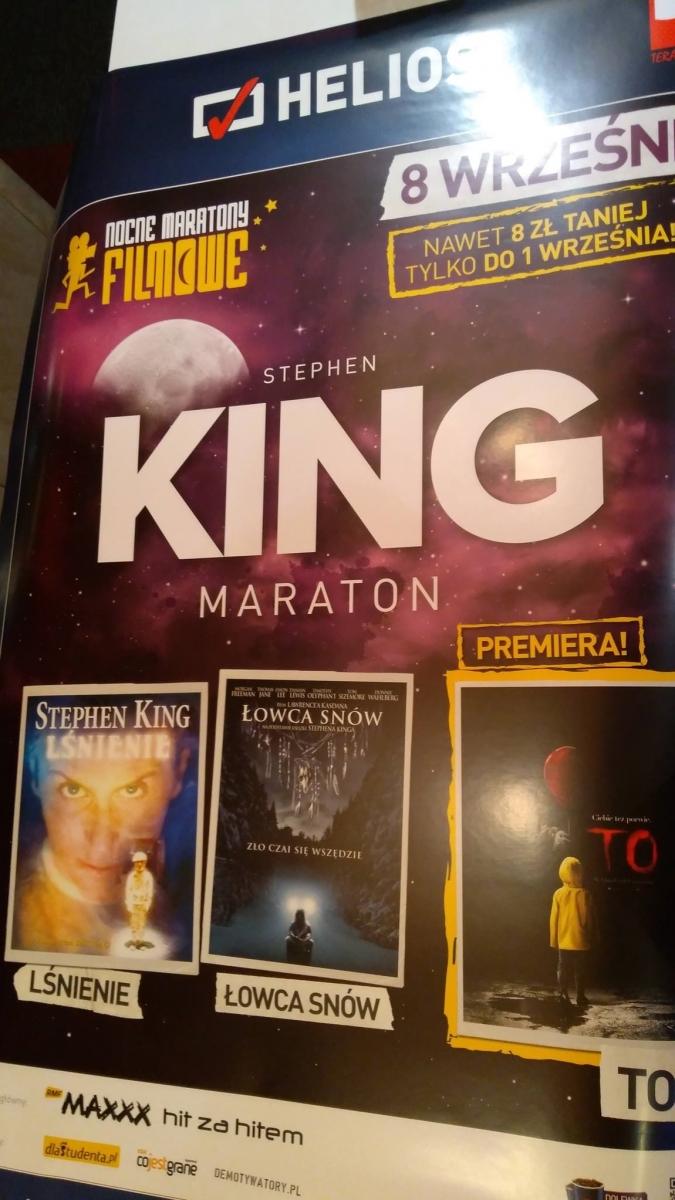 Maraton filmów Stephena Kinga w kinach sieci Helios - obrazek