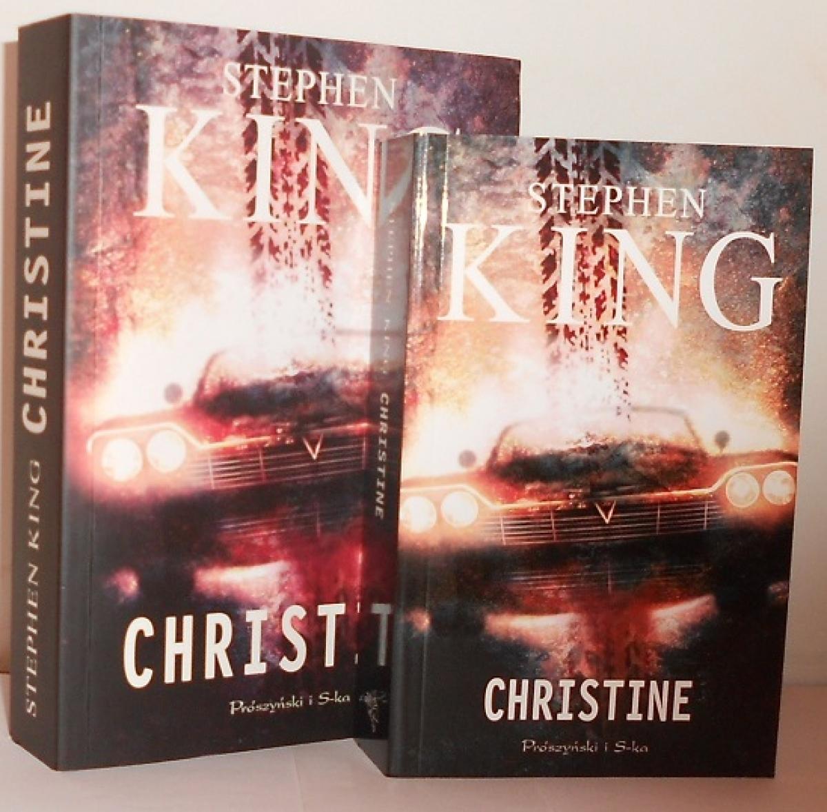 """""""Christine"""" - książka w wydaniu standardowym i kieszonkowym - obrazek"""