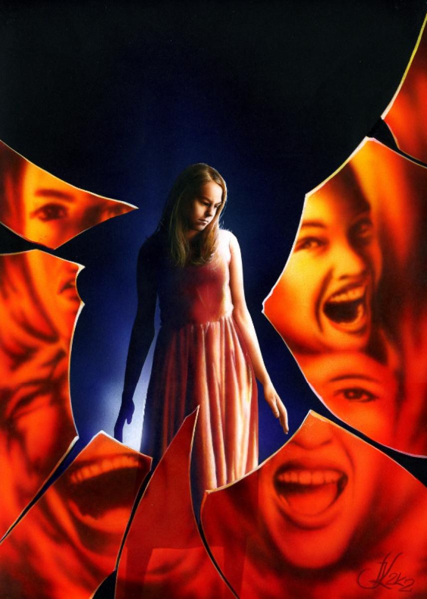 """""""Carrie"""" - niewykorzystany projekt okładki Jacka Kopalskiego - obrazek"""