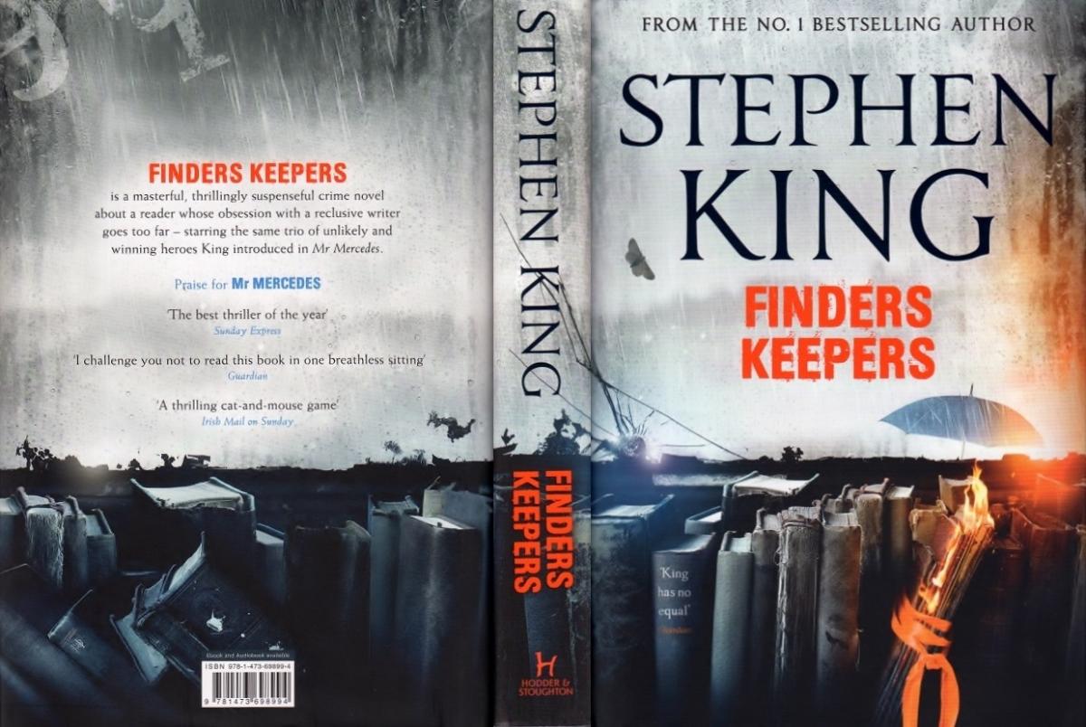 """Finders Keepers"" - obwoluta wariantu standardowego - obrazek"