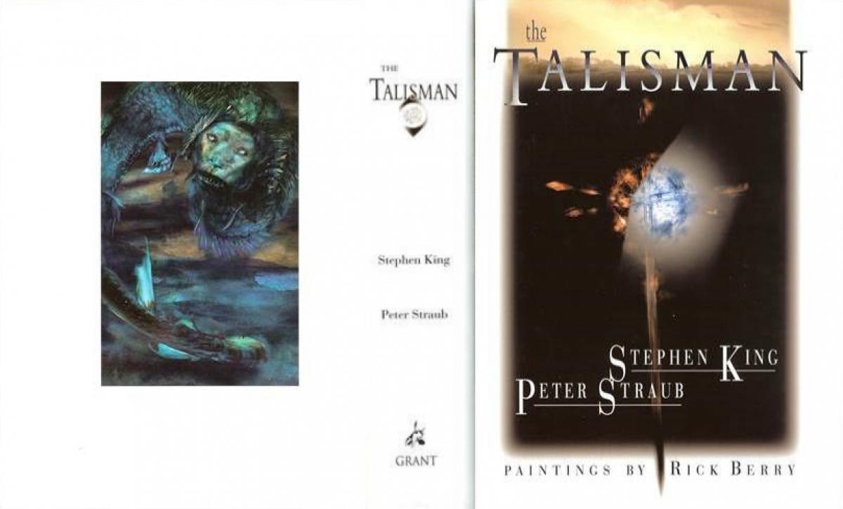 """""""The Talisman"""" - obwoluta - obrazek"""
