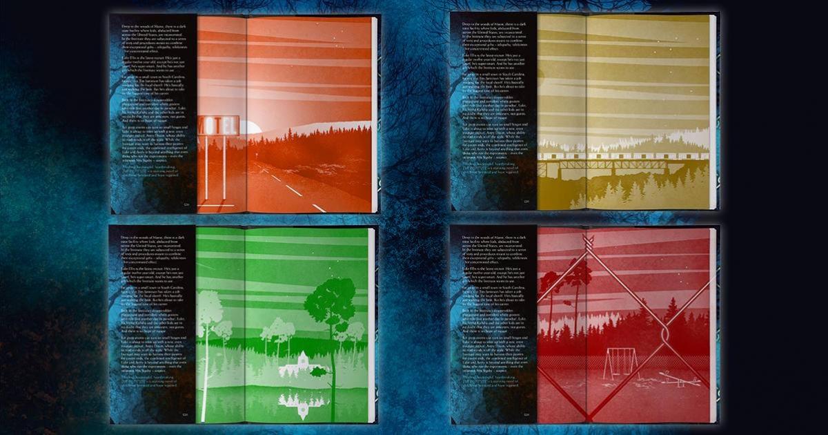 """""""The Institute"""" - warianty podstawowe Hodder&Stoughton - obrazek"""
