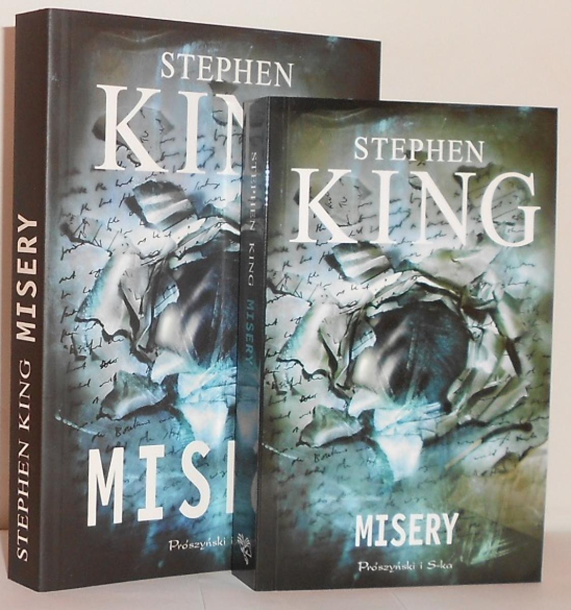"""""""Misery"""" - książka w wydaniu standardowym i kieszonkowym - obrazek"""
