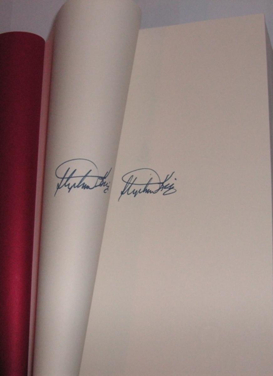 """""""11/22/63"""" Signed Edition - 2 autografy Kinga w moim egzemplarzu - obrazek"""