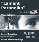 Konrad Brzeziński - Lament Paranoika