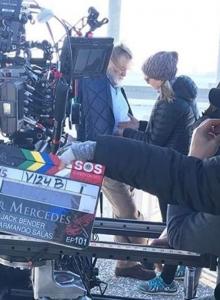 Pan Mercedes 007 zdjęcia z planu w Charleston - obrazek