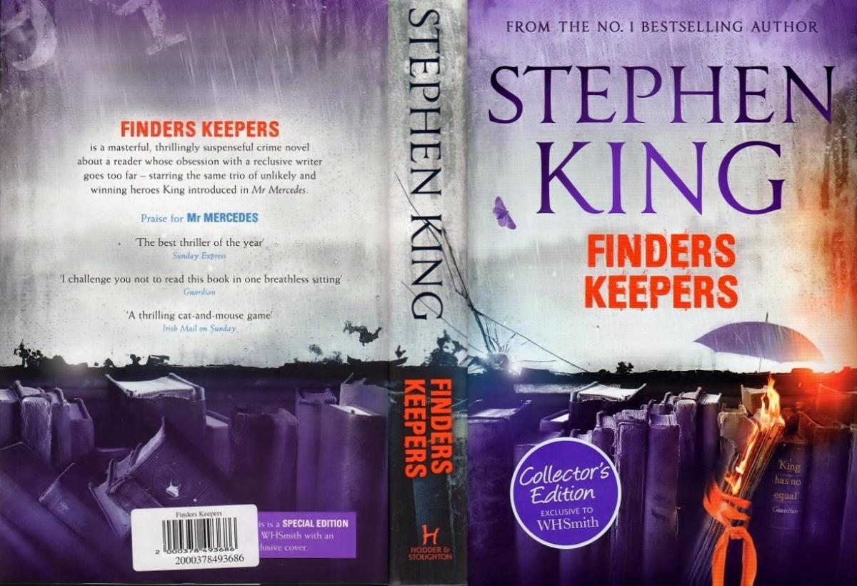 """""""Finders Keepers"""" - obwoluta wariantu WHSmith - obrazek"""