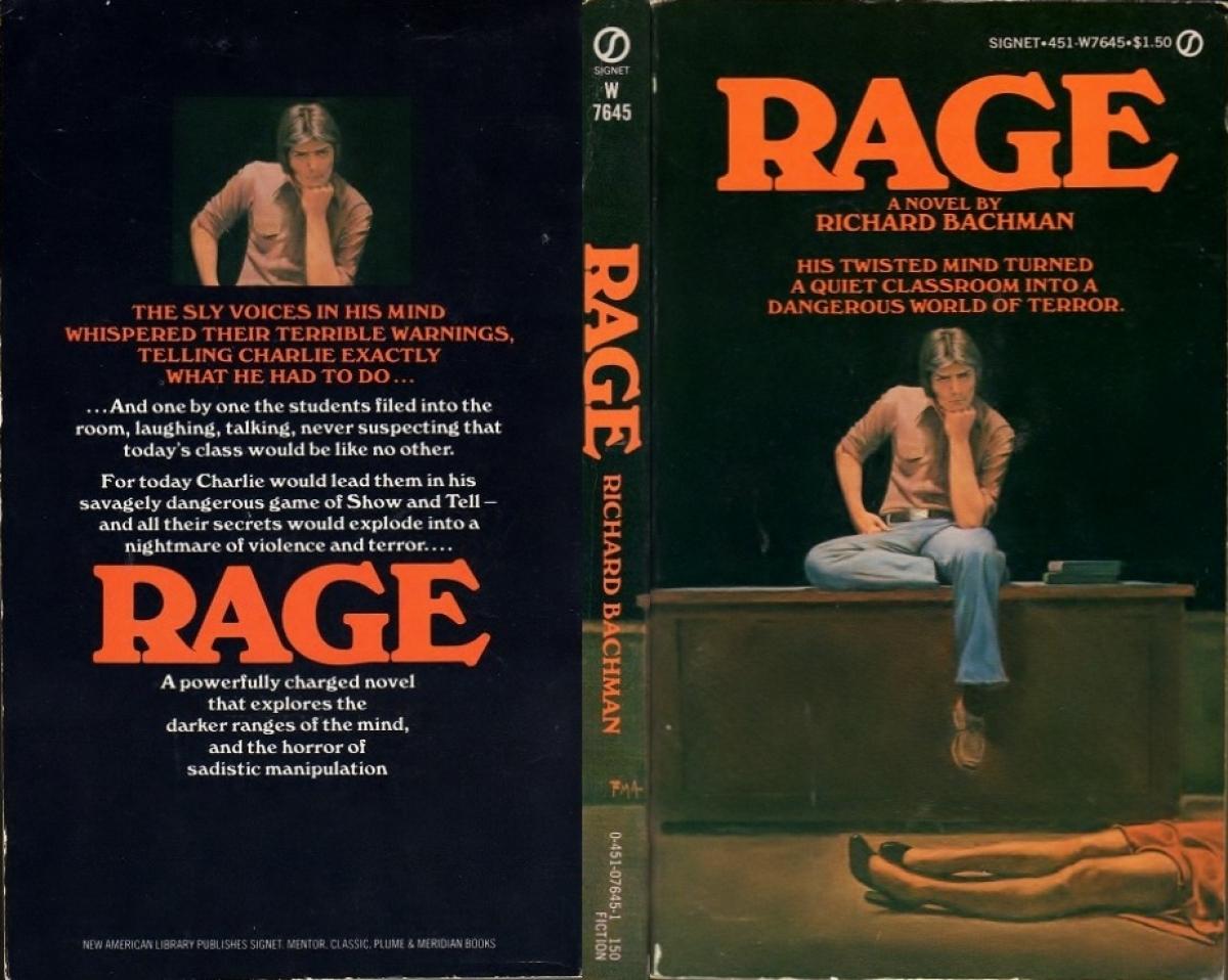 """""""Rage"""" - okładka - obrazek"""