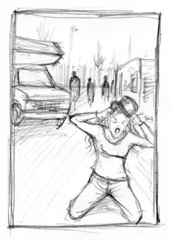 Vincent Chong - Rose - szkic - obrazek