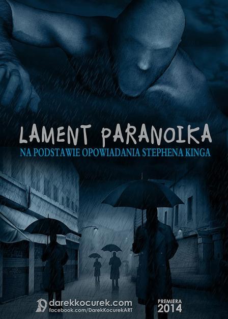 Lament Paranoika - plakat