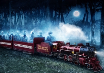 Vincent Chong - Ghost Train - obrazek