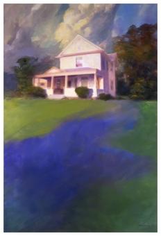 Rick Berry - Black House - White House - obrazek
