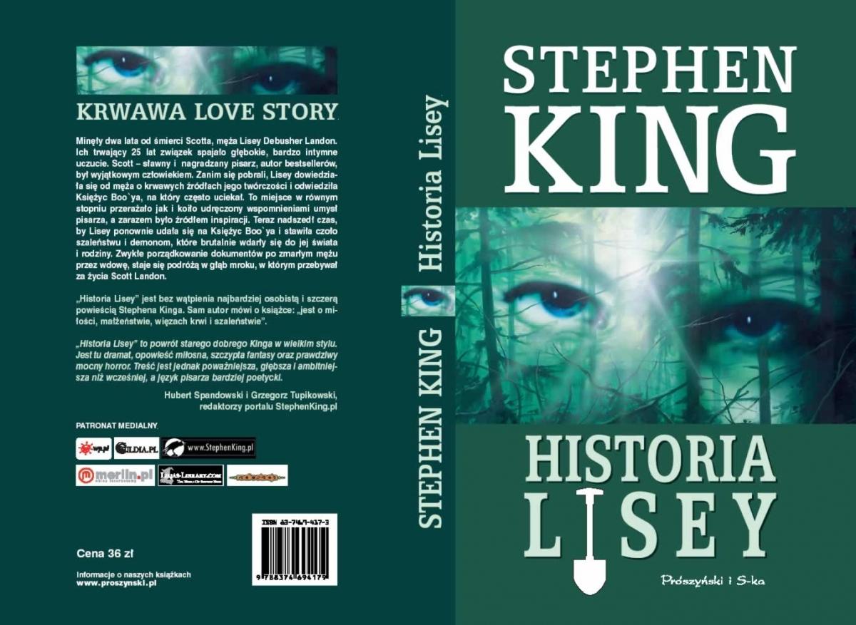 """""""Historia Lisey"""" - cała okładka - obrazek"""