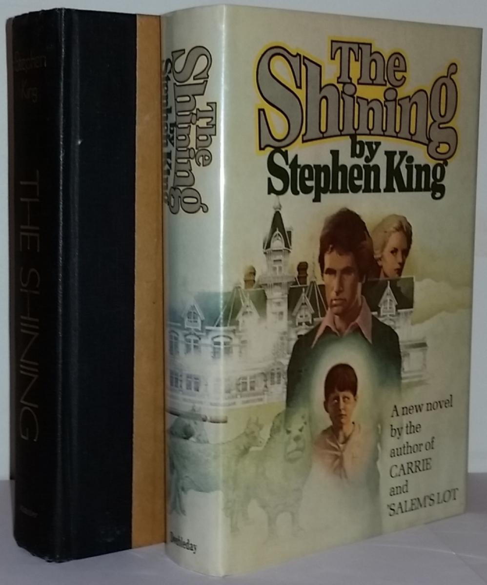 """""""The Shining"""" - książka i obwoluta - obrazek"""