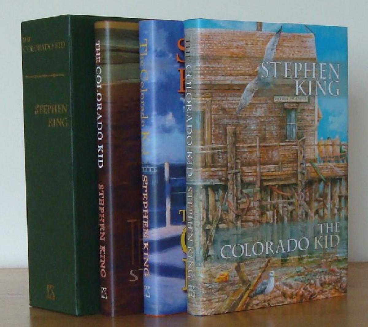 """""""The Colorado Kid"""" - PS Publishing - wydanie z 2007 roku - obrazek"""