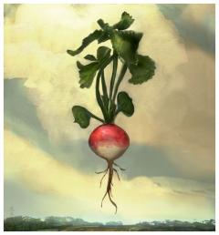 Rick Berry - The Talisman - Floating Radish - obrazek