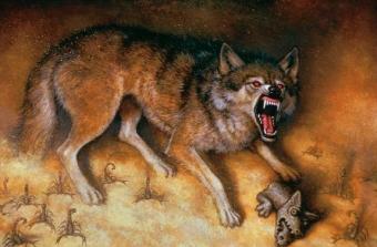 The Wolf - obrazek