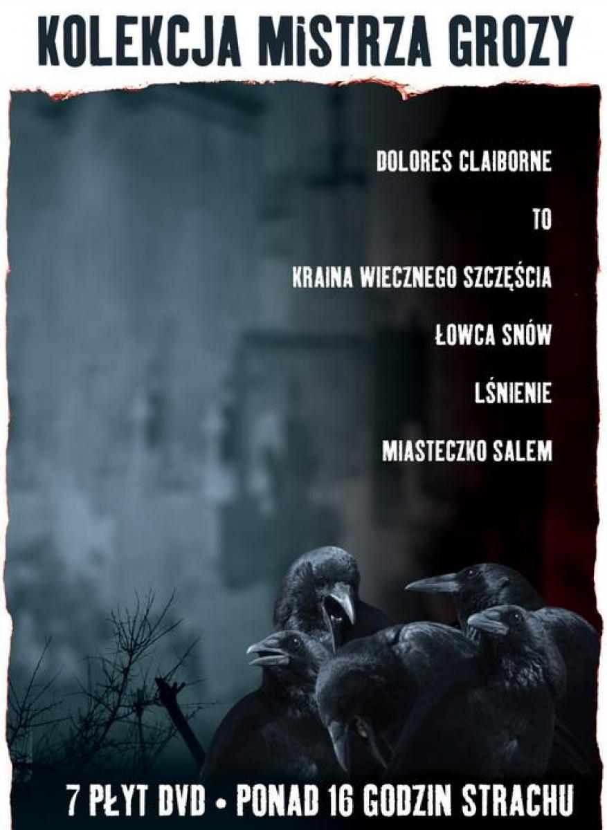 Kolecka Mistrza Grozy - zestaw 6 filmĂłw na DVD - obrazek