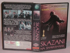 Skazani na Shawshank (VHS) - okładka