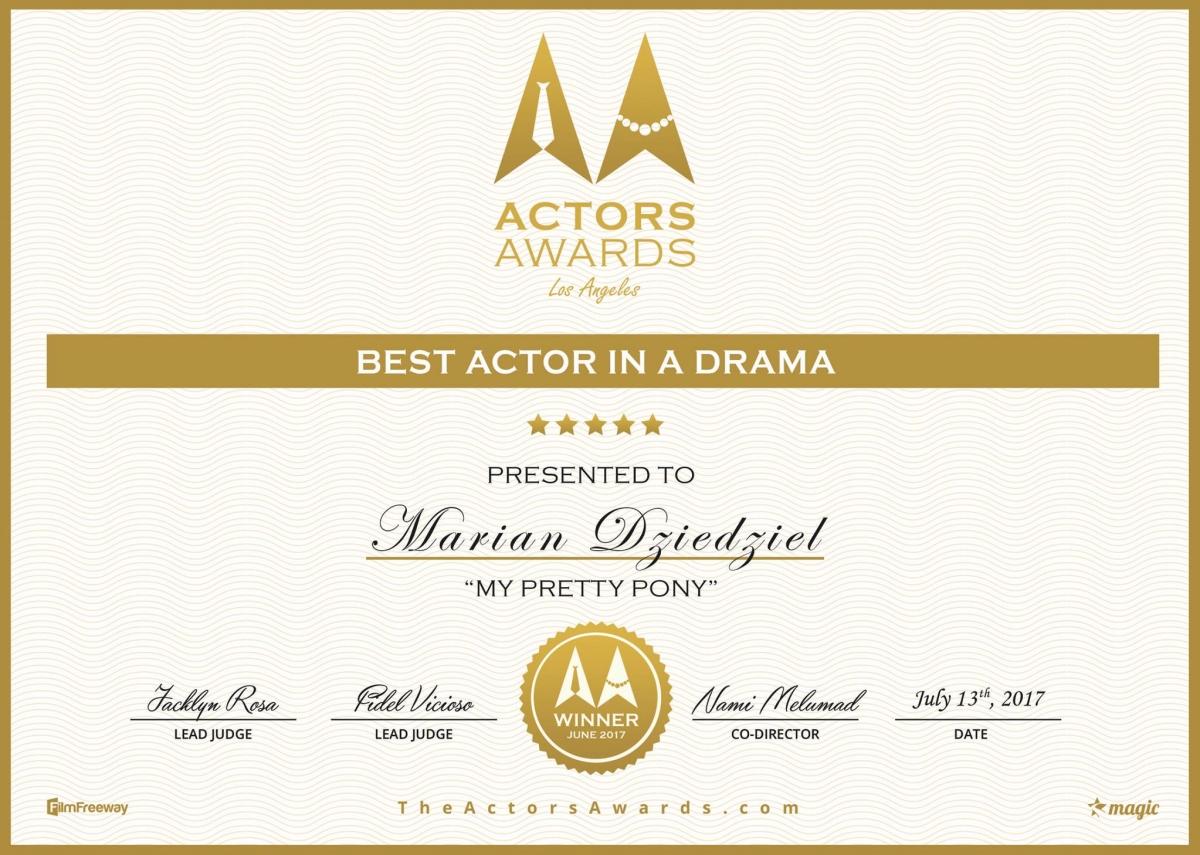 Marian Dziędziel - Best Actor in Drama - obrazek