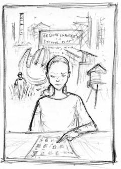 Vincent Chong - Abra - szkic - obrazek