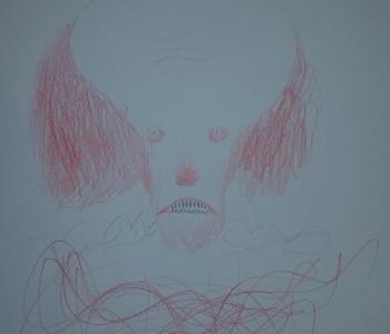 Pennywise Tony Sandoval - grafika i autograf - obrazek