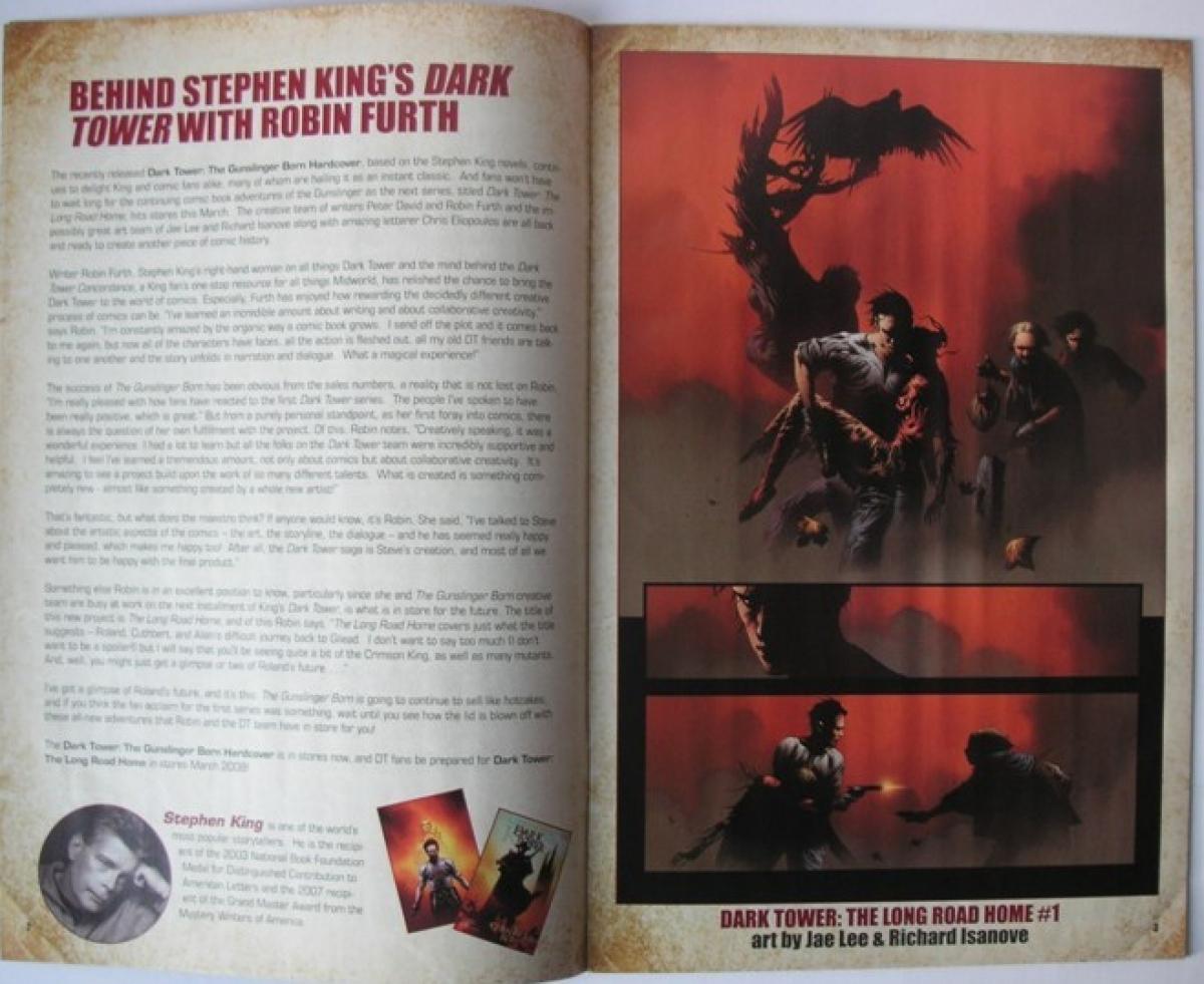 """""""Marvel's Best-Selling Authors"""" - przykładowa strona - obrazek"""