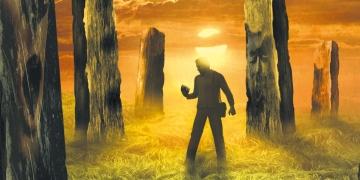 Po zachodzie słońca - okładką Darka Kocurka - obrazek