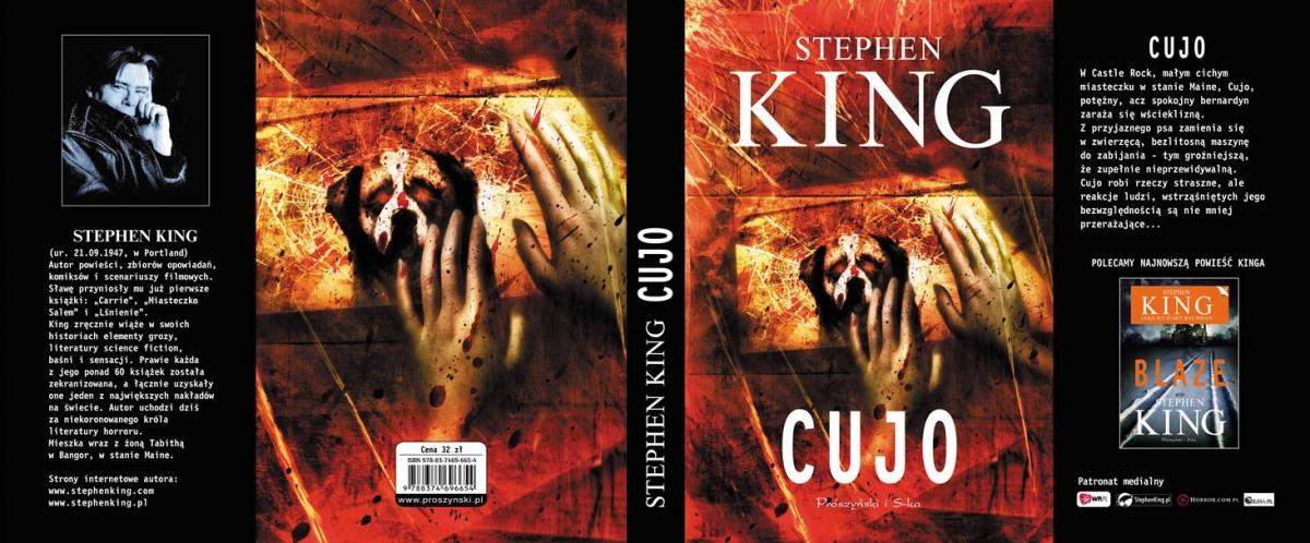 """""""Cujo"""" - cała okładka - obrazek"""