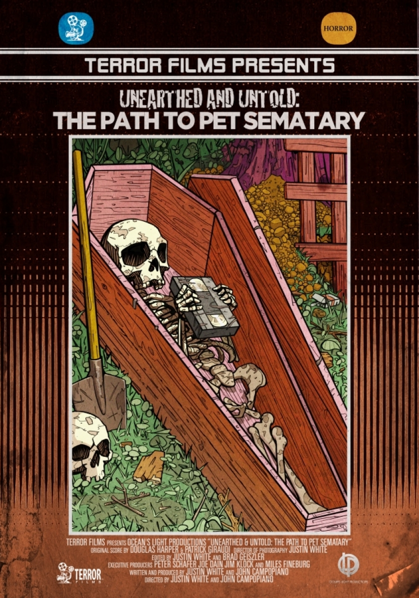 """Unearthed & Untold: The Path to Pet Sematary"" - plakat - obrazek"