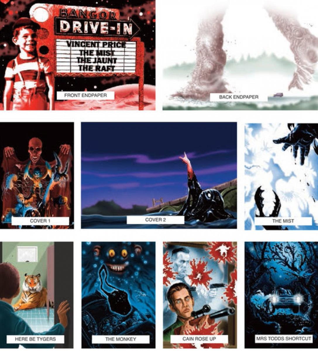 Skeleton Crew - PS Publishing - wizualizacje ilustracji 3 - obrazek